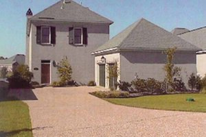 Country Exterior - Front Elevation Plan #15-328