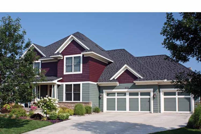 Country Exterior - Front Elevation Plan #51-1053 - Houseplans.com