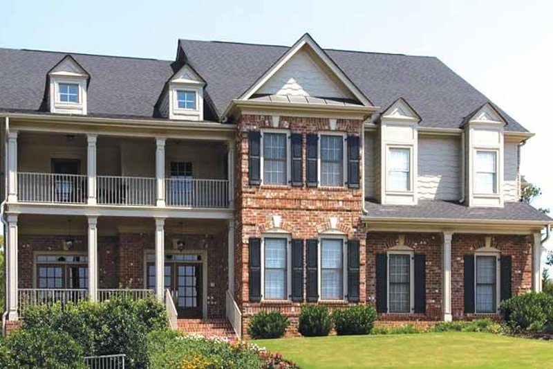 Architectural House Design - Traditional Exterior - Front Elevation Plan #54-321