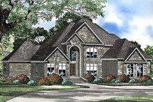 Traditional Exterior - Front Elevation Plan #17-3222