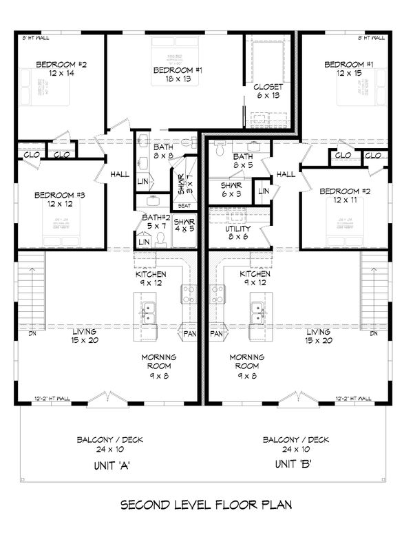 Dream House Plan - Contemporary Floor Plan - Main Floor Plan #932-51