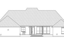 Dream House Plan - Southern Exterior - Rear Elevation Plan #1074-33