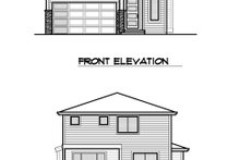 Contemporary Exterior - Other Elevation Plan #1066-88