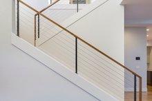 Contemporary Interior - Entry Plan #48-651