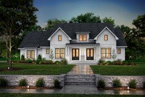 Farmhouse Exterior - Front Elevation Plan #430-249