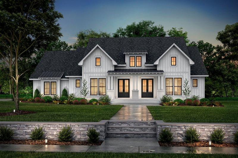 House Plan Design - Farmhouse Exterior - Front Elevation Plan #430-249
