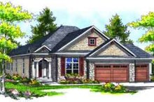 Traditional Exterior - Front Elevation Plan #70-722