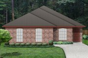 Traditional Style House Plan - 3 Beds 2 Baths 1235 Sq/Ft Plan #84-540