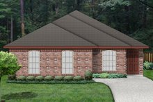 Dream House Plan - Traditional Exterior - Front Elevation Plan #84-540