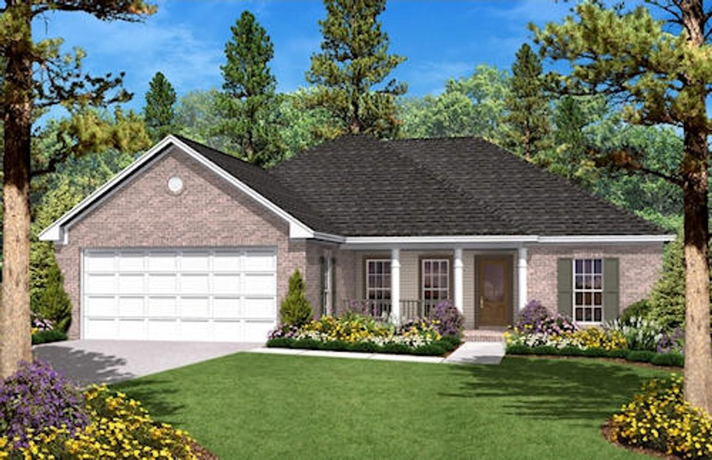 Ranch Style House Plan - 3 Beds 2 Baths 1400 Sq/Ft Plan #430-9 on 1000 sq ft garage plans, foursquare house floor plans, frame small ranch home plans, 1400 sq ft salon plans, 1400 sq ft european, rectangle ranch house plans, 1400 foot floor plans, 1400 sq ft farmhouse plans, 1400 sq ft restaurant layout designs, level 2 floor house plans, 1500 sq ft ranch plans, 1400 sq ft cabin plans, simple square house floor plans,