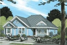 Traditional Exterior - Front Elevation Plan #20-1883
