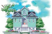Craftsman Style House Plan - 2 Beds 2.5 Baths 1794 Sq/Ft Plan #930-151 Exterior - Front Elevation