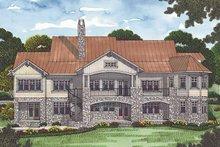 House Plan Design - Craftsman Exterior - Rear Elevation Plan #453-470
