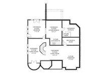 European Floor Plan - Lower Floor Plan Plan #119-417