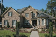 House Plan Design - Colonial Exterior - Front Elevation Plan #927-587