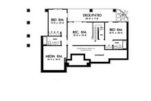 Craftsman Floor Plan - Other Floor Plan Plan #929-902