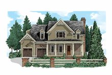 House Plan Design - Country Exterior - Front Elevation Plan #927-521