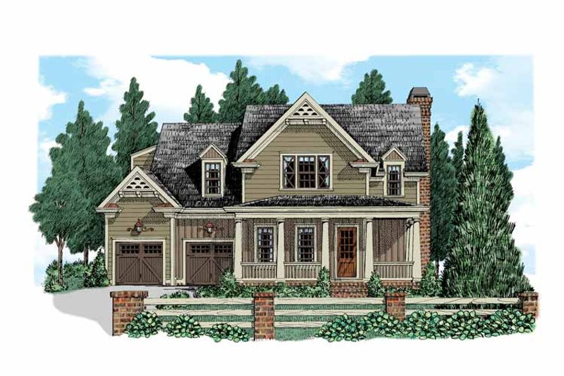 Country Exterior - Front Elevation Plan #927-521 - Houseplans.com