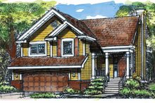 Country Exterior - Front Elevation Plan #320-630