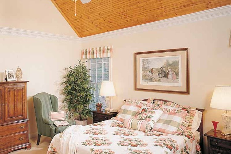 Country Interior - Bedroom Plan #929-148 - Houseplans.com