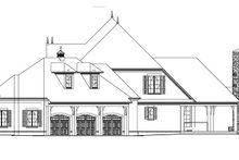 European Exterior - Other Elevation Plan #17-3328