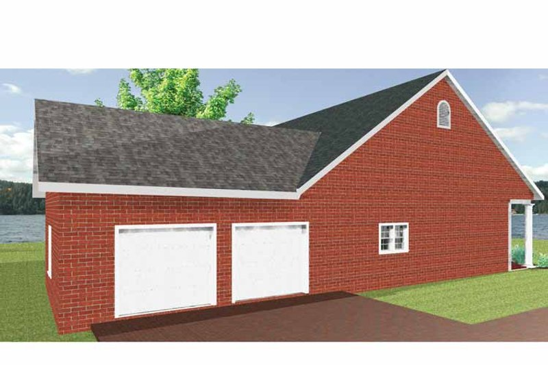 Country Exterior - Other Elevation Plan #44-209 - Houseplans.com