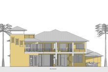 Southern Exterior - Rear Elevation Plan #481-9