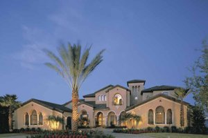 Home Plan - Mediterranean Exterior - Front Elevation Plan #1039-2