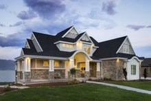 House Plan Design - Craftsman Exterior - Front Elevation Plan #920-29