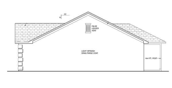 Ranch Floor Plan - Other Floor Plan Plan #1058-30