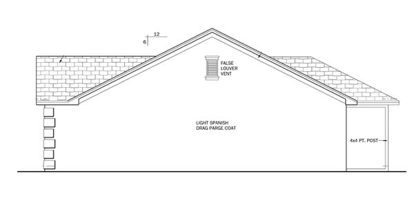 Ranch Floor Plan - Other Floor Plan Plan #1058-30