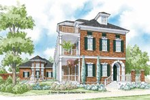 Home Plan - Traditional Exterior - Front Elevation Plan #930-359