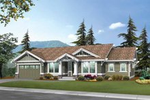 Craftsman Exterior - Front Elevation Plan #132-247
