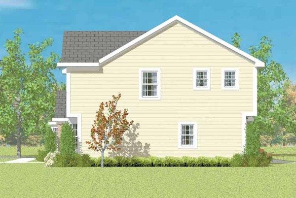 Colonial Floor Plan - Other Floor Plan Plan #72-1077