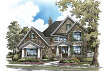 Architectural House Design - Craftsman Exterior - Front Elevation Plan #929-839