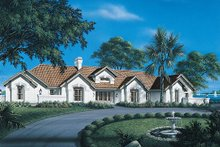 Dream House Plan - Traditional Exterior - Front Elevation Plan #57-273