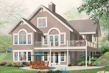 European Exterior - Front Elevation Plan #23-2422