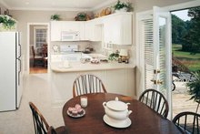 Dream House Plan - Country Interior - Kitchen Plan #929-96