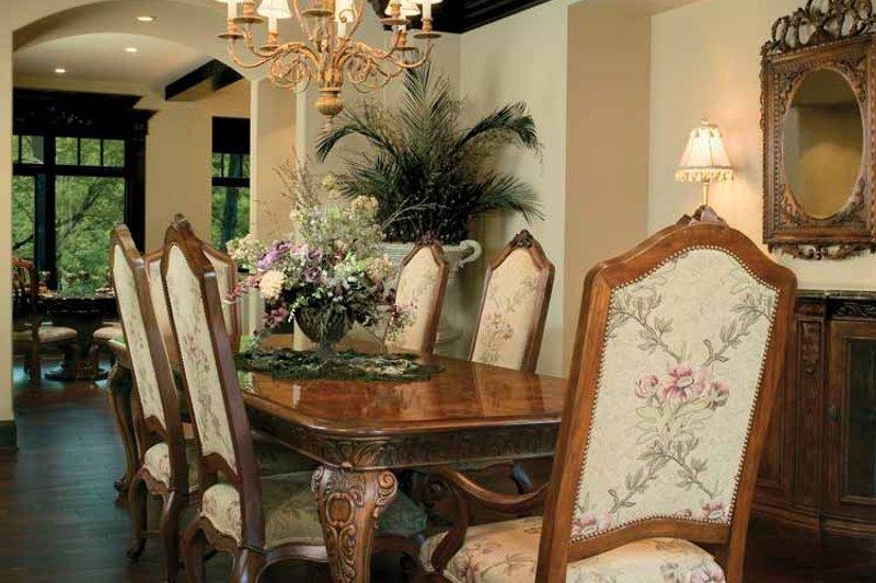 Tudor Interior - Dining Room Plan #928-61 - Houseplans.com