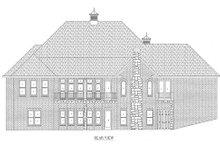 Home Plan - European Exterior - Rear Elevation Plan #437-21