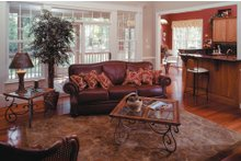Country Interior - Family Room Plan #929-9