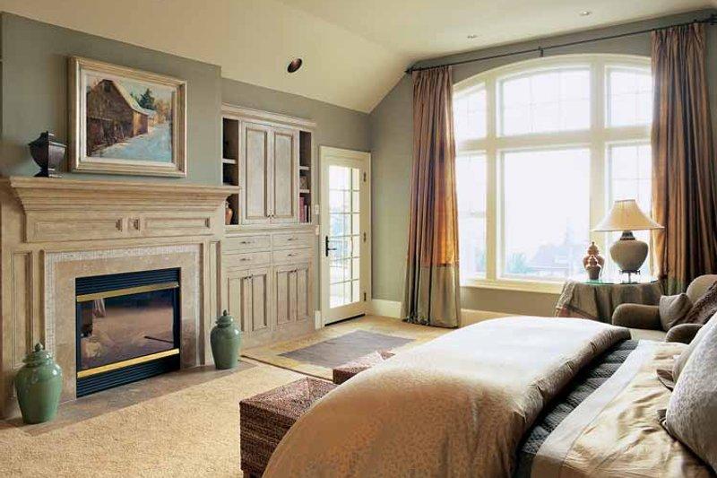 Craftsman Interior - Master Bedroom Plan #48-807 - Houseplans.com