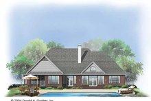 Ranch Exterior - Rear Elevation Plan #929-733