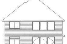 Traditional Exterior - Rear Elevation Plan #509-293