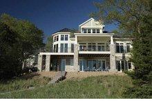 Craftsman Exterior - Rear Elevation Plan #928-175