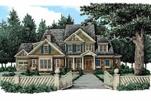 Traditional Exterior - Front Elevation Plan #927-346