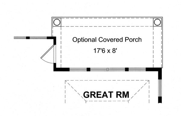 Colonial Floor Plan - Other Floor Plan Plan #316-276