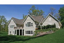 Craftsman Exterior - Rear Elevation Plan #928-207