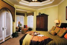 Architectural House Design - Mediterranean Interior - Bedroom Plan #930-315