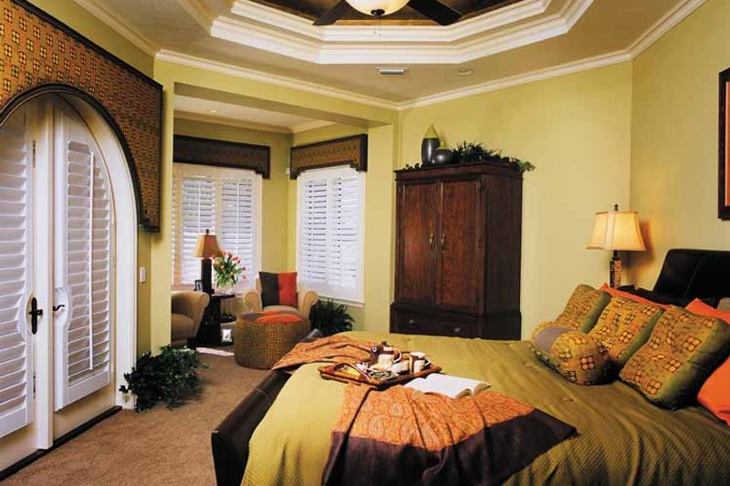 Mediterranean Interior - Bedroom Plan #930-315 - Houseplans.com